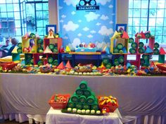 Angry Birds Birthday Party Ideas | Photo 3 of 35 | Catch My Party