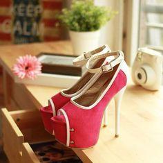 2013 Hot Women's Open Toe High Heels Shoes Platform Pump Strappy Sandals CS84 | eBay