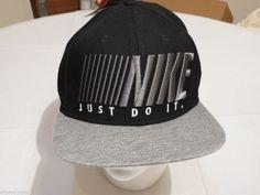 Mens trucker cap hat one size fits most snap back Just do it Nike skateboarding  #Nike #hatcap