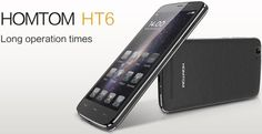 The HomTom HT6 smartphone with a 6,250mAh battery is up for pre-order - https://www.aivanet.com/2015/10/the-homtom-ht6-smartphone-with-a-6250mah-battery-is-up-for-pre-order/