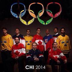 2014 Blackhawks Olympians