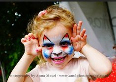40 Cool Face Painting Ideas For Kids Easy Face Painting Designs, Cool Face, Trunk Or Treat, Painting For Kids, Halloween, Ideas, Bottles, Make Up, Party