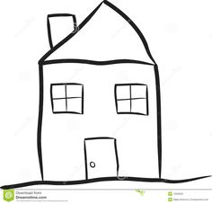 simple house drawing google search - Simple Drawing House