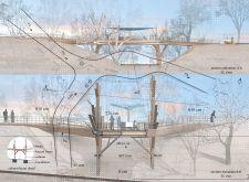 Gauja National Park Footbridge Competition Winners Architecture Awards, School Architecture, Student Awards, Massachusetts Institute Of Technology, Glasgow School Of Art, Pedestrian Bridge, Historical Monuments, Medieval Castle, Lebanon