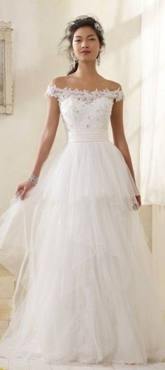 pretty fairy princess wedding dress, Alfred Angelo