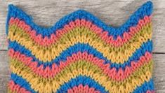Image result for knit ripple stitch?