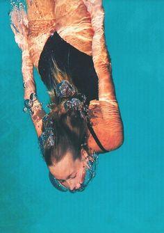 Grafisch / sfeer / retro // Swimming Time