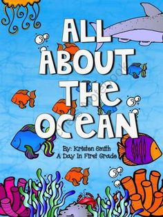 All About the Ocean from A Day In First Grade on TeachersNotebook.com (76 pages) - This packet will really help your Ocean units come to life for your students. It includes vocabulary words, definitions, writing extensions and numerous comprehension pages. It also includes crafts and a class activity!