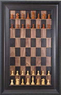 Poker on pinterest playing cards chess sets and dice games - Chess board display case ...
