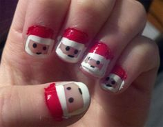 santa-kids-nail-polish-ideas-for-christmas
