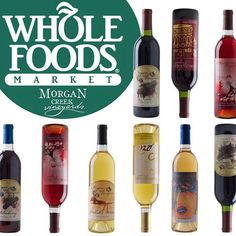 Morgan Creek Winery + Whole Foods Market Mountain Brook.  Be sure to pick up a few bottles during your next grocery trip!