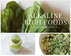 Alkaline Rich Foods (Guide & Recipe Round-up) from Food by Mars - gluten-free, vegan, vegetarian Alkaline Rich Foods, Acid And Alkaline, Alkaline Diet Recipes, Raw Food Recipes, Healthy Recipes, Healthy Foods, Holistic Nutrition, Healthy Nutrition, Nutrition Apps