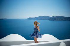 Photo Diary: Magical Santorini