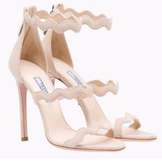Duchess of Cambridge PRADA Scalloped straps sandals