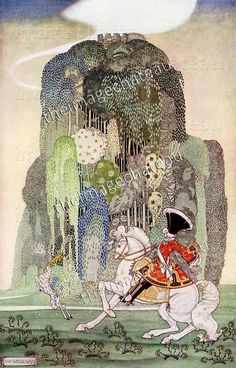 SLEEPING BEAUTY by Kay Nielsen French Fairy Tale Fantasy