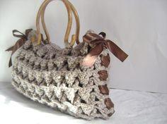 Other – Handmade Knitted Handbag -Teacher Bag - Everyday – a unique product by muratyusuf on DaWanda
