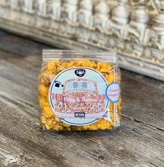 Custom gourmet popcorn favors for weddings & bridal showers