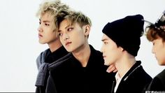 Tao Kris and a side of Sehun :3
