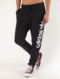 Light Logo Sweatpants for Women by Adidas
