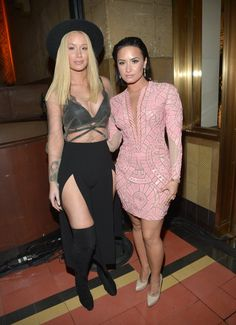 Pin for Later: Toutes les Photos des Afterparty des MTV VMAs Sont Là! Iggy Azalea et Demi Lovato