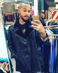 Picked up a new coat at @cowmanchester courtesy of @finnerty_matthew  #me #gpoy #selfie #beard #beardy #menwithbeards #menwithtattoos #boyswithtattoos #boyswithbeard #beardgang #beards #vintage  #style #piercing #instagram #insta #ink #tattoo #tattooed #septum #vintage #menstyle #mensfashion #streetstyle #braids #manbraid #fashion #birthday