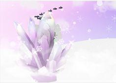 Amethyst. Himmel und   violett. weisse Schnee. Nebel  Vögel. Abstract, Artwork, Mists, Heavens, Snow, Pictures, Summary, Work Of Art, Auguste Rodin Artwork