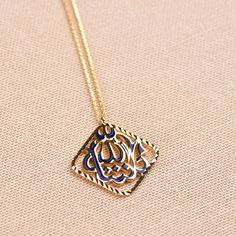 Solid 14K Yellow Gold Dainty Cubic Zirconia Studded Dragonfly Charm Pendant Necklace