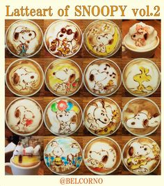 Colorful latte art! Japanese barista creates coffee with character