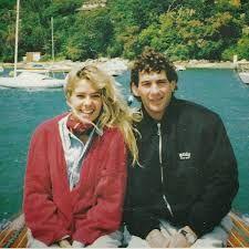 Ayrton Senna. e Adriane no tempo em que ela era solteira.