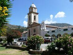 Iza, Boyaca, Colombia, Plaza principal