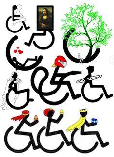 Chais'Art, des dessins drôles sur des T-shirts et autres objets mais toujours autour du thème handicap et fauteuil roulant