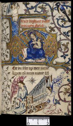Getijdenboek van Kunera van Leefdael, Delft, ca. 1415. Hs. 5.J.26 | Utrecht University Library, The Netherlands