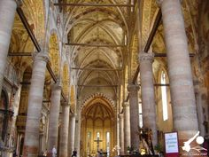 Verona, interno del Duomo.  Lago di Garda   @LagoGardaPoint   #LagodiGarda   #LakeGarda   #Gardasee   #LacdeGarde