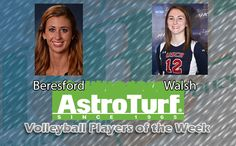 GRu's Beresford, USCA's Walsh Named PBC Volleyball AstroTurf Players of the Week