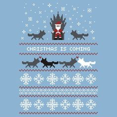 Game of Thrones Christmas Sweater Idea