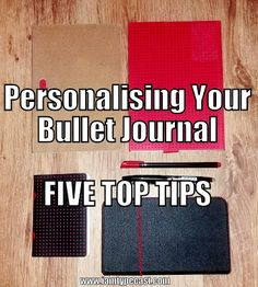 Personalising Your Bullet Journal - 5 Top Tips ~ Typecast    Recently I wrote my top three tips for starting a bullet journal and here I'll expand on how I have adapted the bullet journal system to suit my own planning needs.    Recently I wrote my top three tips for starting a bullet journal and here I'll expand on how I have adapted the bullet journal system to suit my own planning needs.    Here are my next five tips for making your bullet journal work for you.