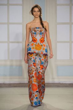 Temperley London Fall 2014 Ready-to-Wear Runway - Temperley London Ready-to-Wear Collection