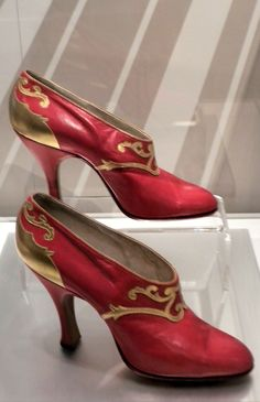 1920's shoes - Bata Shoe Museum - Photo by Ingrid Mida