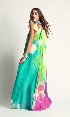 Flowing island inspired maxis and kaftans