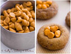 Soft Gingersnaps with Butterscotch Chips