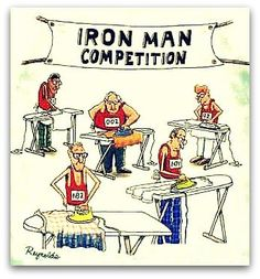 Very funny | Iron Man Competition