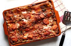 Lasagna With Roasted Eggplant, Mushrooms and Carrots — Recipes for Health - NYTimes.com