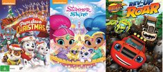 Featuring 3 of the hottest Nickelodeon shows at the moment, these DVD prize packs will keep your little ones entertained. There are 5 DVD prize packs tobe won and each pack includes:  1 x Blaze & The Monster Machines: Rev Up And Roar There are monster-sized surprises around every turn in these four wild …