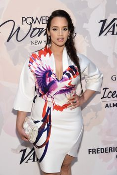 Dascha Polanco attends Variety's Power of Women New York presented by Lifetime at Cipriani 42nd Street on April 24, 2015 in New York City.