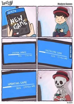 """""""Consoles are simple! Just pop it in and play!"""""""