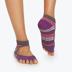 Mary Jane No-Slip Yoga Sock berrylicious