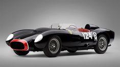 Sporting a gorgeous and purposeful body by Scaglietti & C., the 1958 Ferrari 250 Testarossa was one of the scuderia