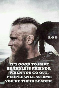 It's good to have Beardless friends...