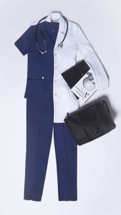From tons of pockets to breathable fabrics, these are the scrubs and lab coats to get you through every shift. Shop now and get off your first order. Doctor White Coat, Doctor Coat, Medical Scrubs, Nurse Scrubs, Stylish Scrubs, Doctor Scrubs, Scrubs Outfit, Scrub Jackets, Lab Coats