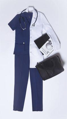 Doctor White Coat, Doctor Coat, Medical Scrubs, Nurse Scrubs, Stylish Scrubs, Doctor Scrubs, Scrubs Outfit, Scrub Jackets, Lab Coats